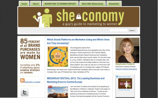 sheconomy stephanie holland marketing to women