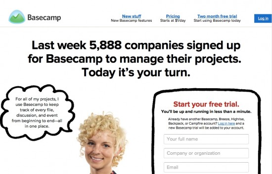 Basecamp for ad agency new business