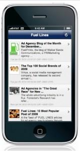 appmakr iphone app fuel lines