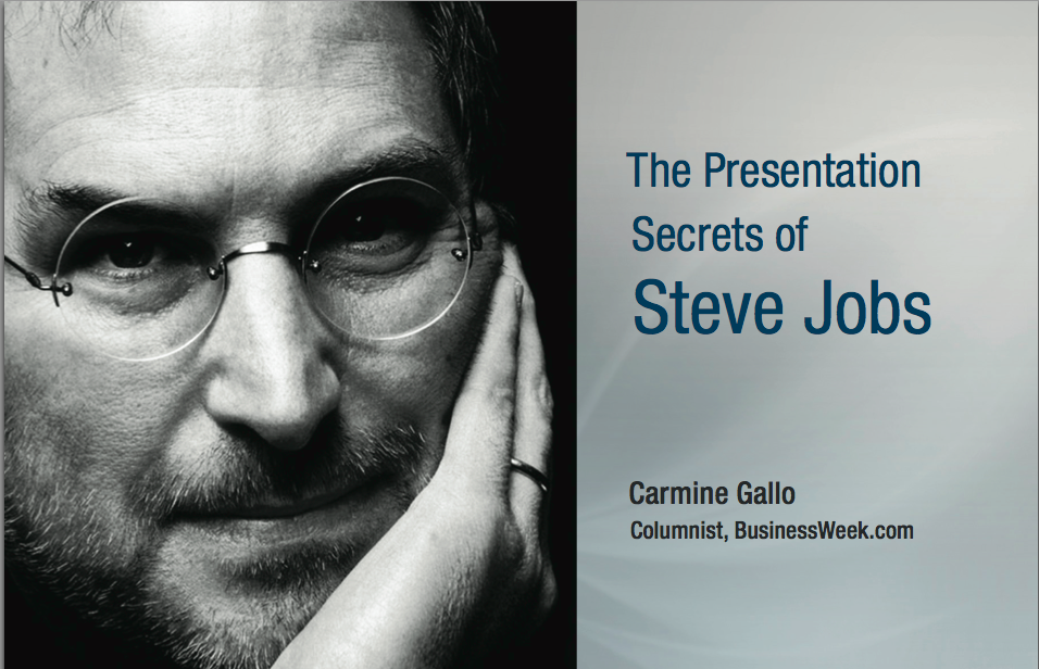 Steve Jobs 10 Presentation Tactics For Ad Agency New