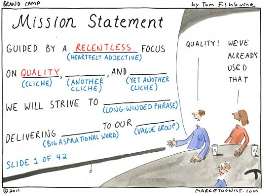 ad agency mission statement
