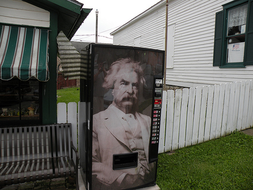 Mark Twain for ad agency new business