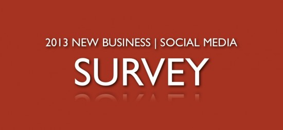 new business social media agency survey