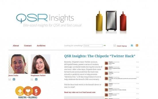 1 qsr insights