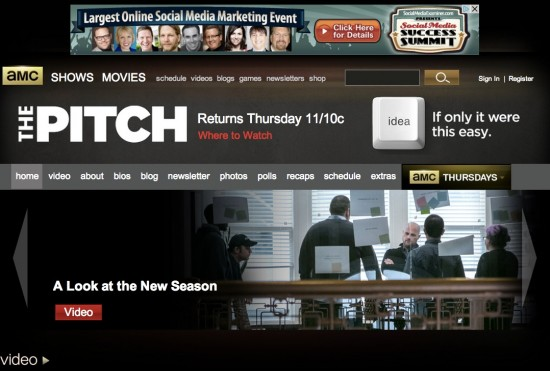 AMC's The Pitch advertising agencies pitching for new business