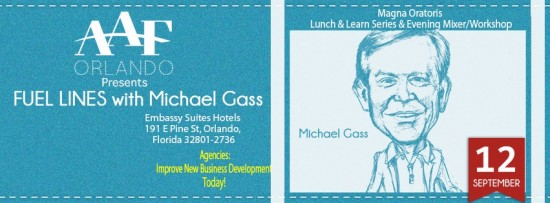 AAF-Orlando, advertising workshop, Michael Gass