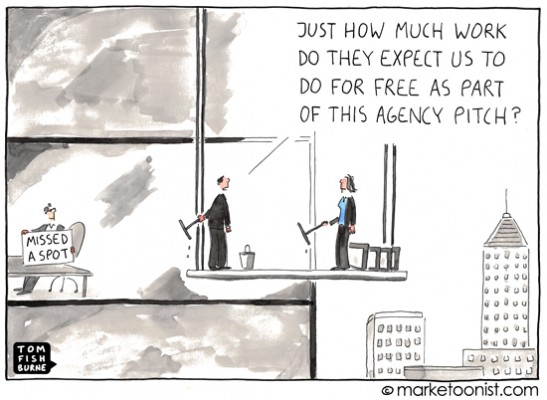 ad agency pitch