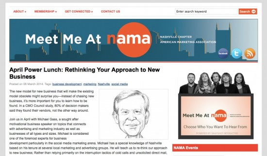 Nashville American Marketing Association NAMA