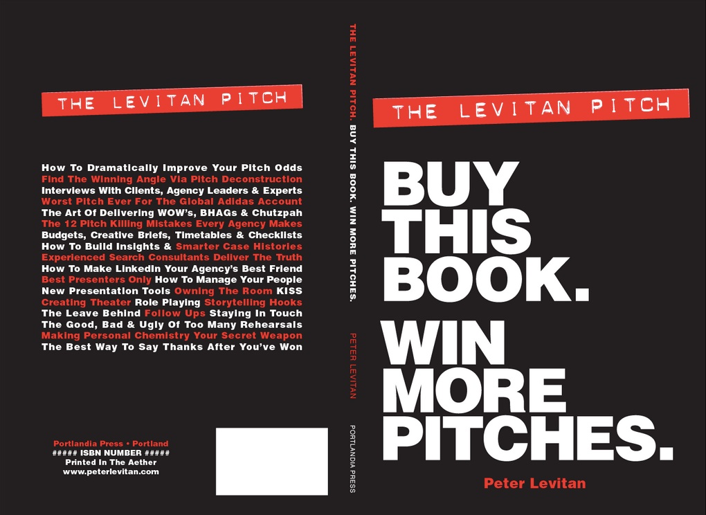 The best pitching guide book for agency new business for Advertising agency pitch