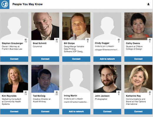 people you may know for ad agency new business