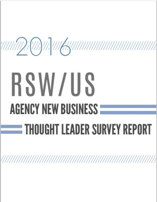 Thought Leader Survey for Ad Agency New Business
