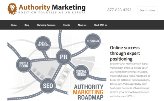 Authority Marketing for Ad Agency New Business