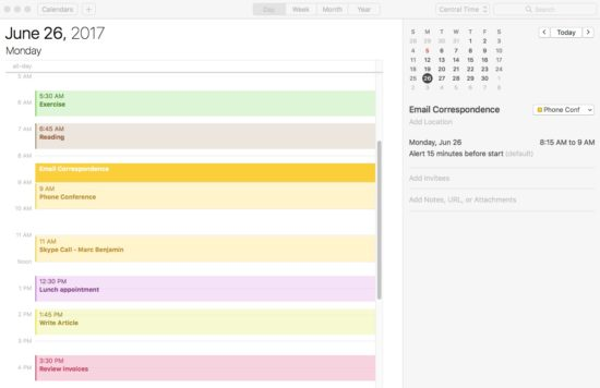 Time Management: A Calendar for Ad Agency New Business